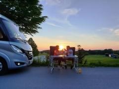 Abendstimmung_Stellplatz-Bad-Waldsee
