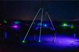 1. LED Nachtgolfanlage Europas